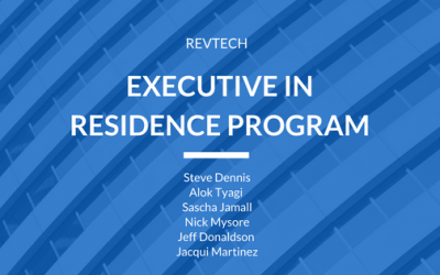 RevTech Ventures Launches Executive in Residence Program